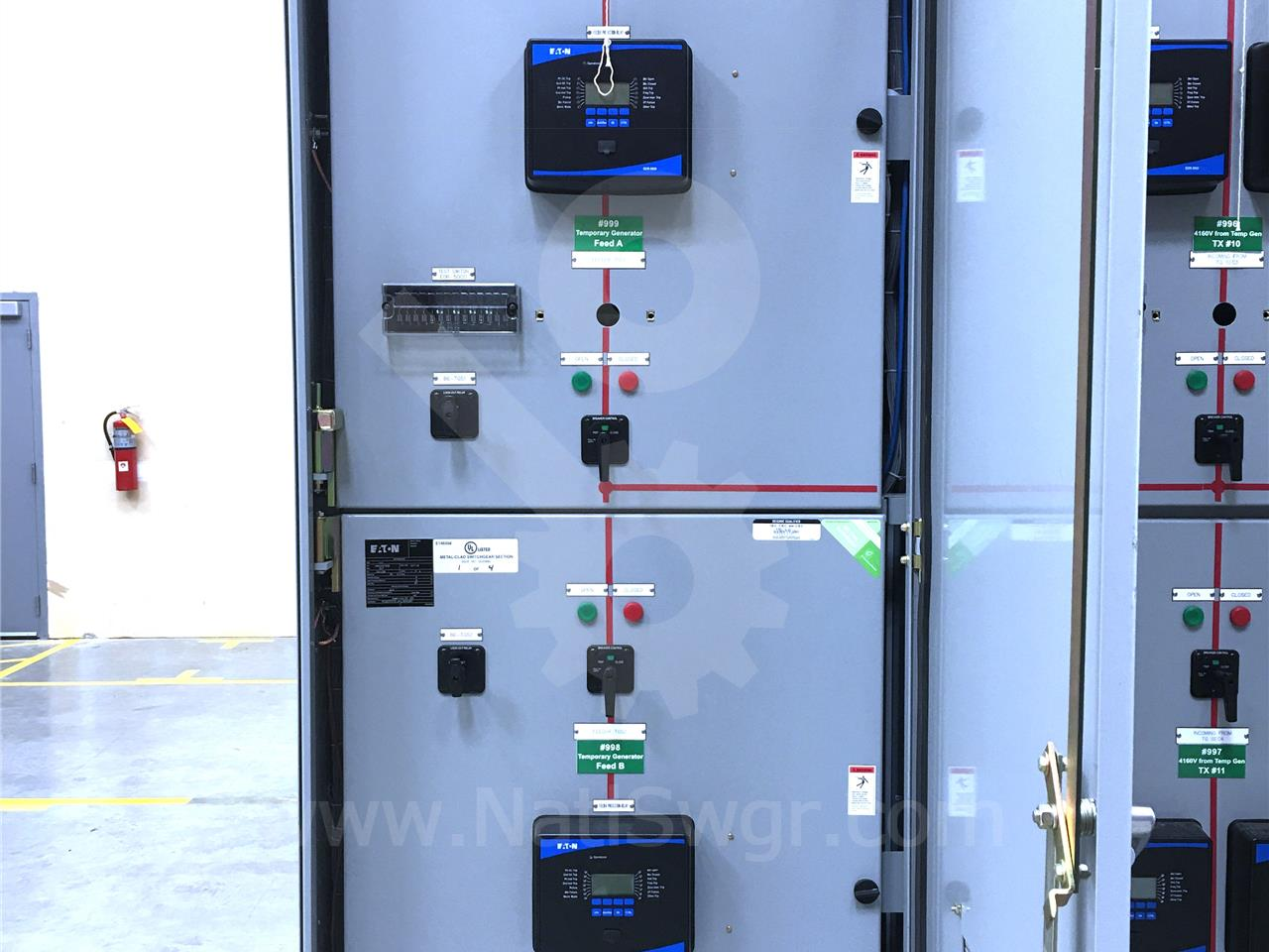 Westinghouse / Cutler Hammer 5KV VCP-W OUTDOOR SWITCHGEAR 350MVA ...