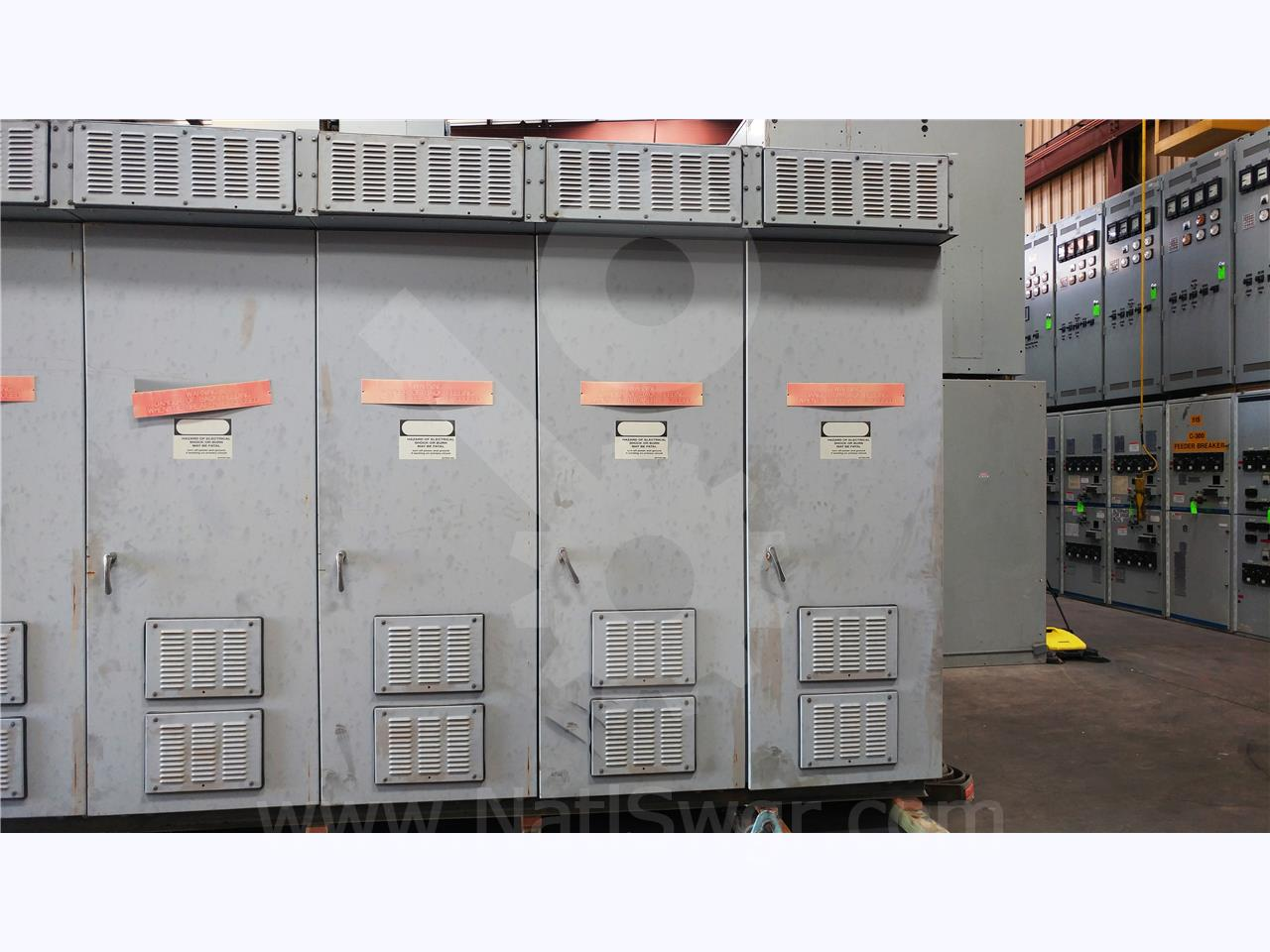 Westinghouse / Cutler Hammer 5KV WH VCP-W OUTDOOR SWITCHGEAR 350MVA