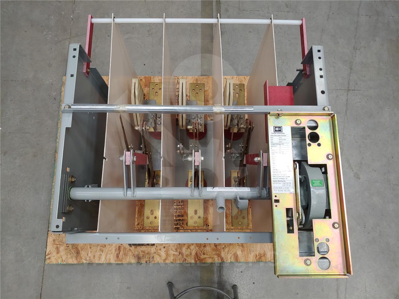 Westinghouse / Cutler Hammer 600A CH WFS SWITCH ID 15KV 95KV BIL