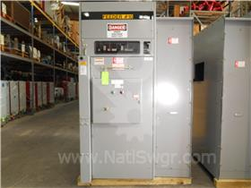 600A SQD HVL LOAD INTERRUPTER SWITCH 15KV 61KA ID