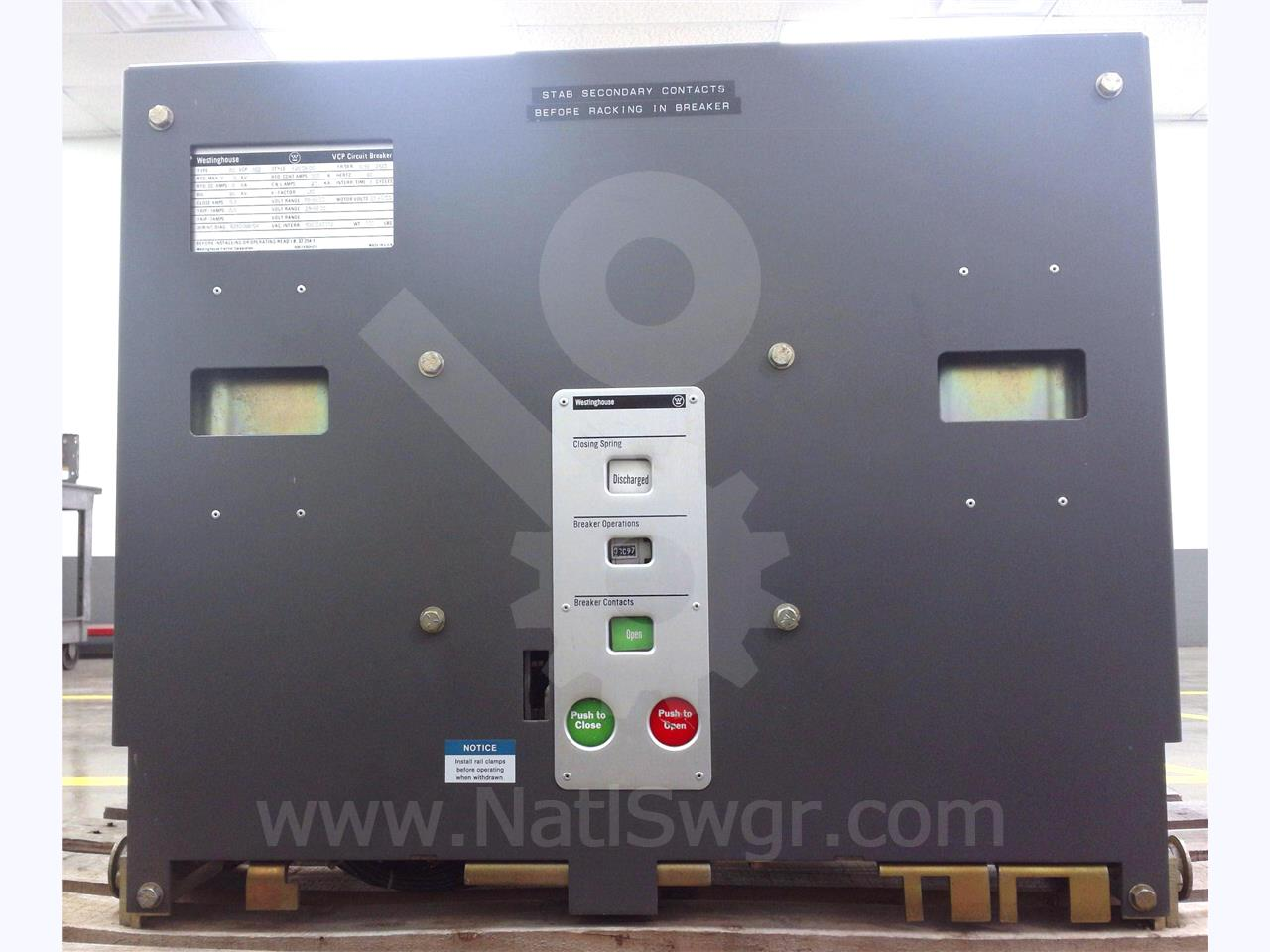 Westinghouse / Cutler Hammer 1200A WH 150VCP 500 (150VCP 500)
