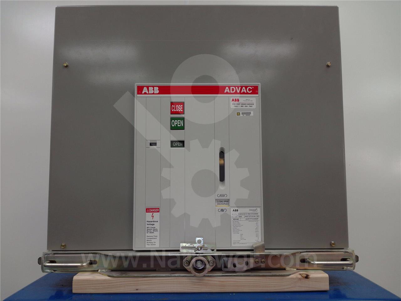 ABB / ITE / BBC 1200A ABB ADVAC AA3F1777XX0000P MODEL 3 (ADVAC MOD3)