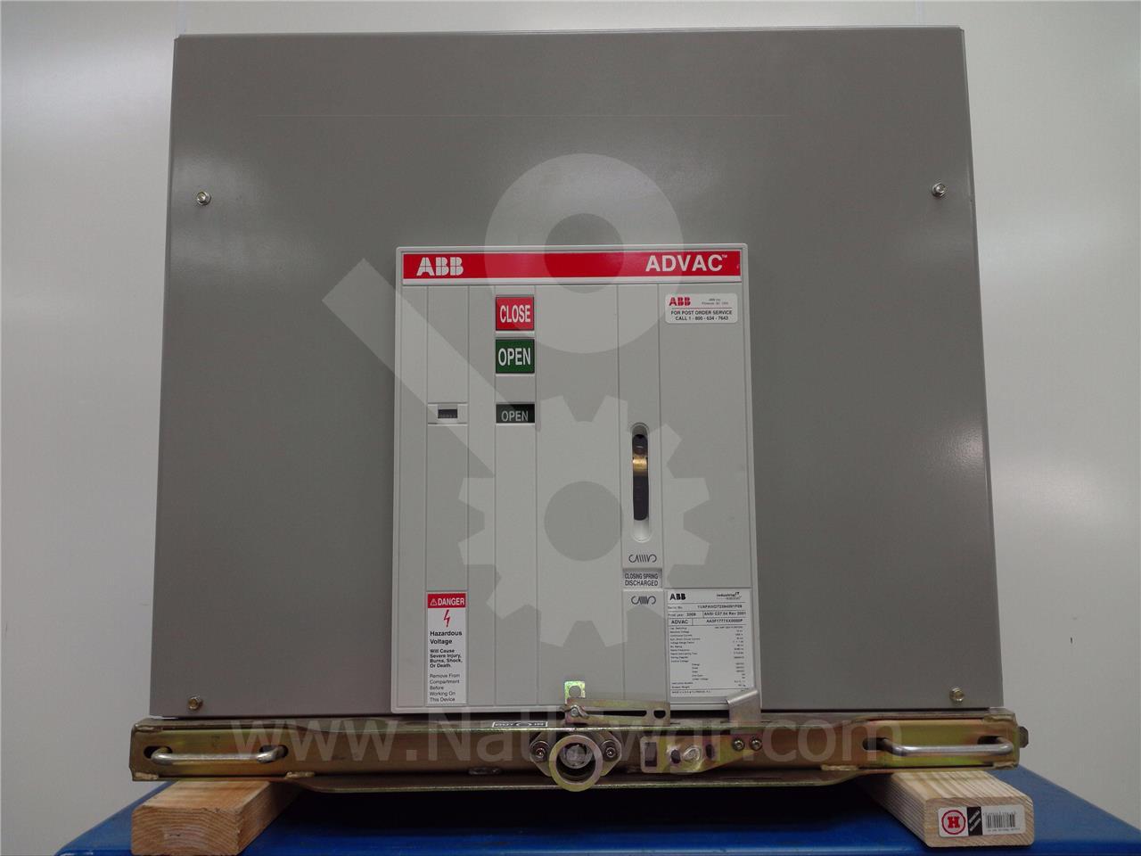 ABB / ITE / BBC 1200A ABB ADVAC AA3F1777XX0000P MOD 3 (ADVAC MOD3)