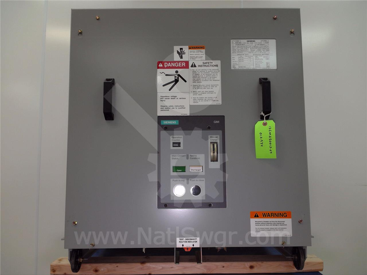 Siemens / Allis Chalmers 1200A SA 15-GMI-500 (15GMI)