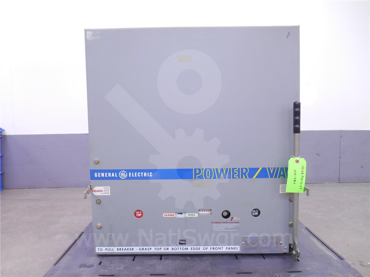 General Electric 1200A GE VB 13.8-750-1 ML-17 (VB 13.8-750)