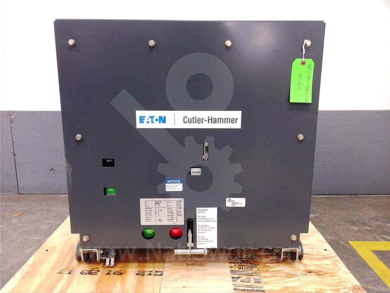 Westinghouse / Cutler Hammer 150VCP-W 500 1200A CH 150VCP-W 500 EO/DO