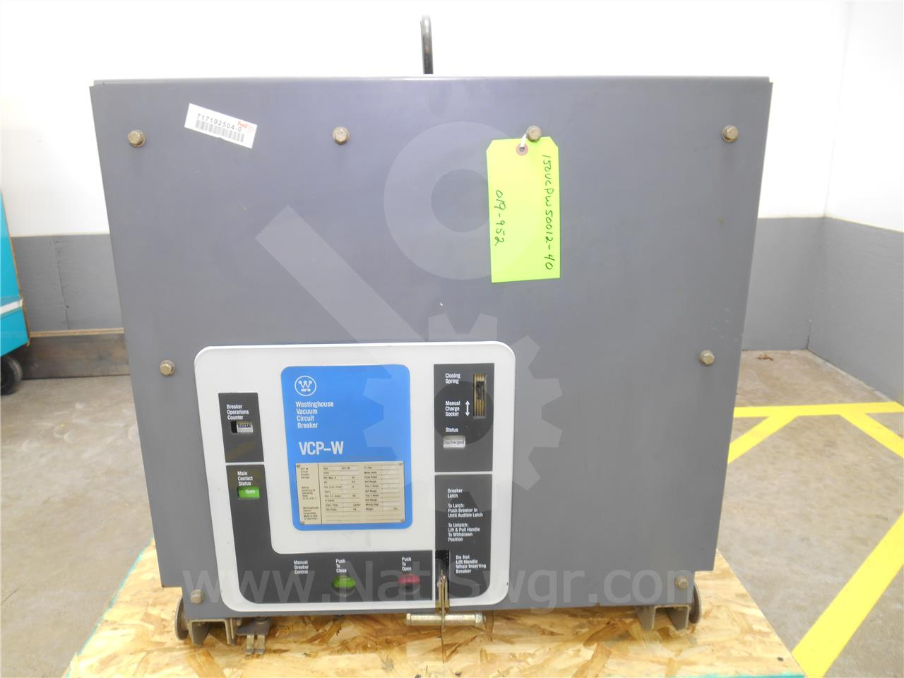 Westinghouse / Cutler Hammer 1200A WH 150VCP-W 500 (150VCP-W 500)