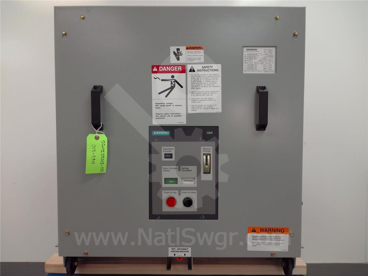 Siemens / Allis Chalmers 1200A SA 5-GMI-250 (5GMI 250)