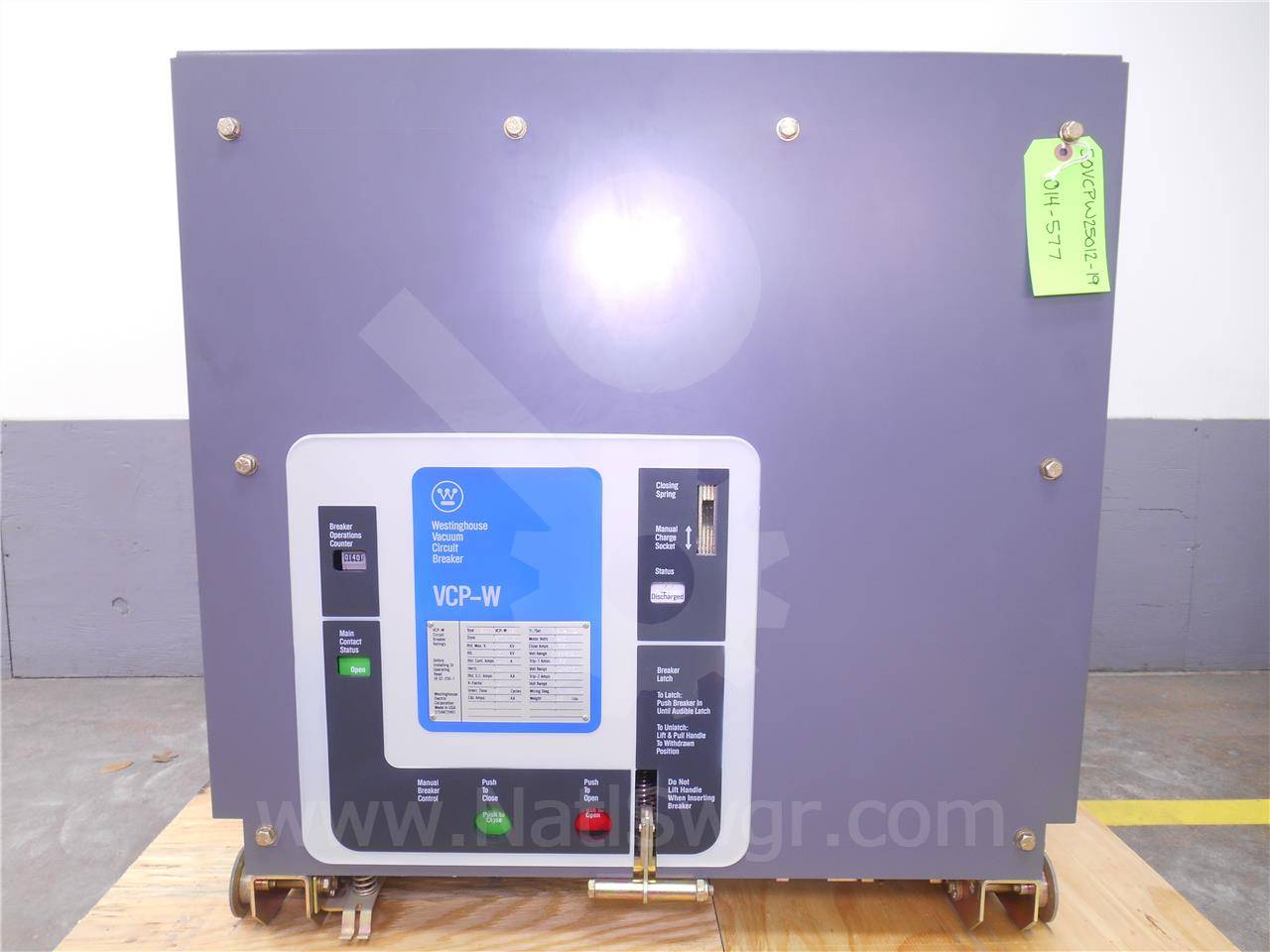 Westinghouse / Cutler Hammer 50VCP-W 250 1200A CH 50VCP-W 250 EO/DO