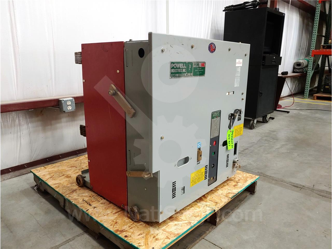 Powell Electric 2000A PWL 05PV0350 PVS-3 (5PV350)
