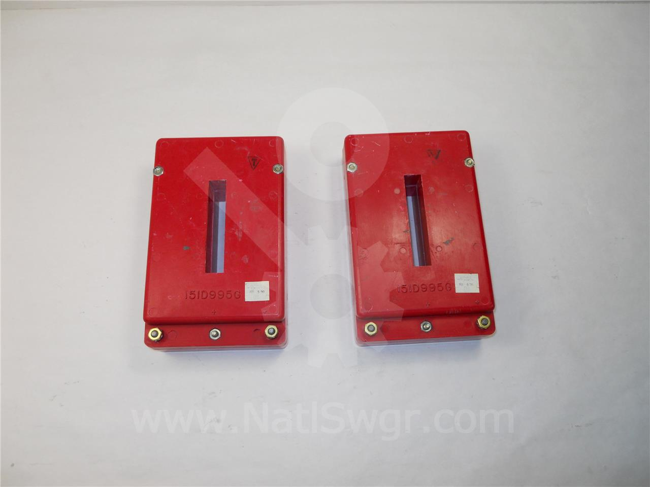 151D995G06 600A Westinghouse CURRENT TRANSFORMER AMPTECTOR / DIGITRIP FOR DS / DSII