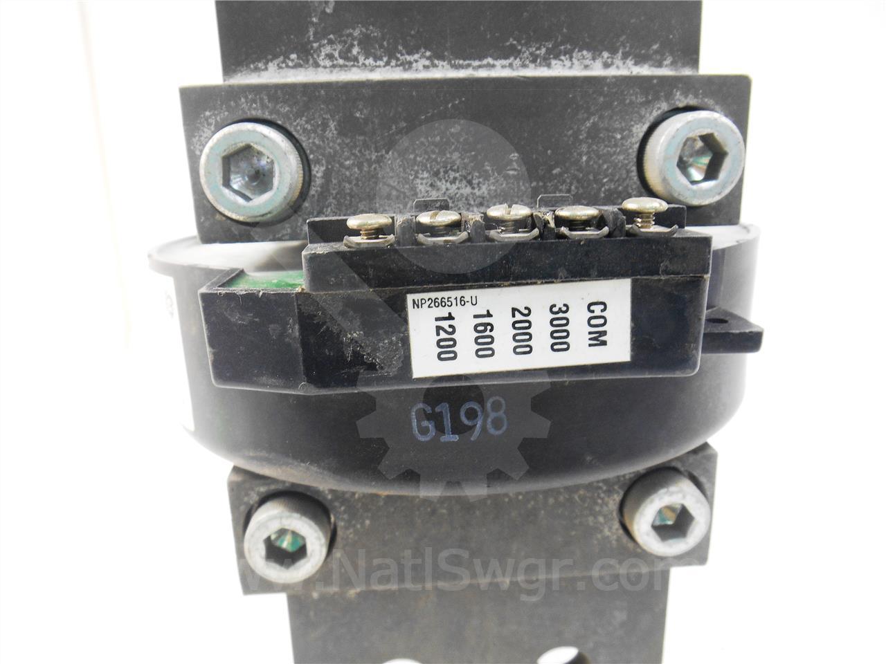 General Electric 1200-3000A GE MULTI RATIO NEUTRAL CURRENT TRANSFORMER MVT / ENTELLIGAURD