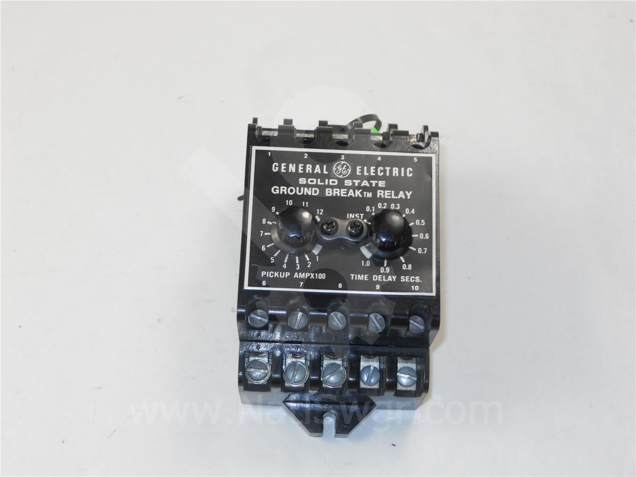 General Electric Ge Tgsr Ground Fault Relay Solid State Theory