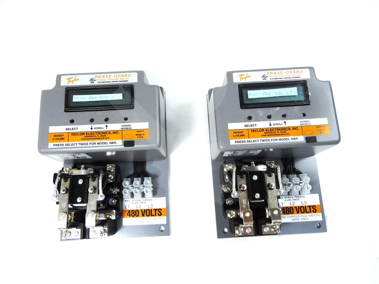 Electronic Relay Curves