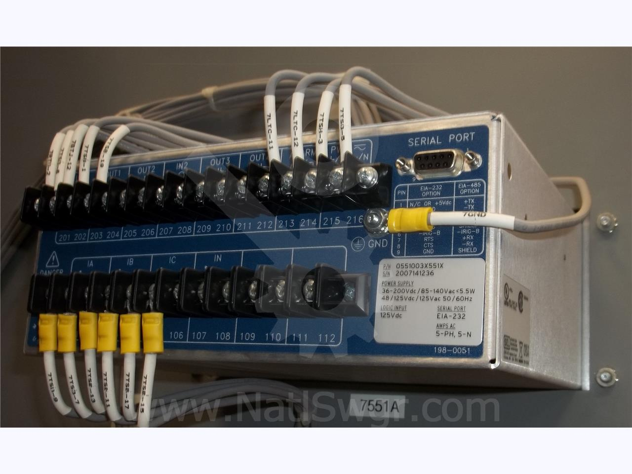 Schweitzer Sel 551 Protection Relay Unused Current Sensing Nz
