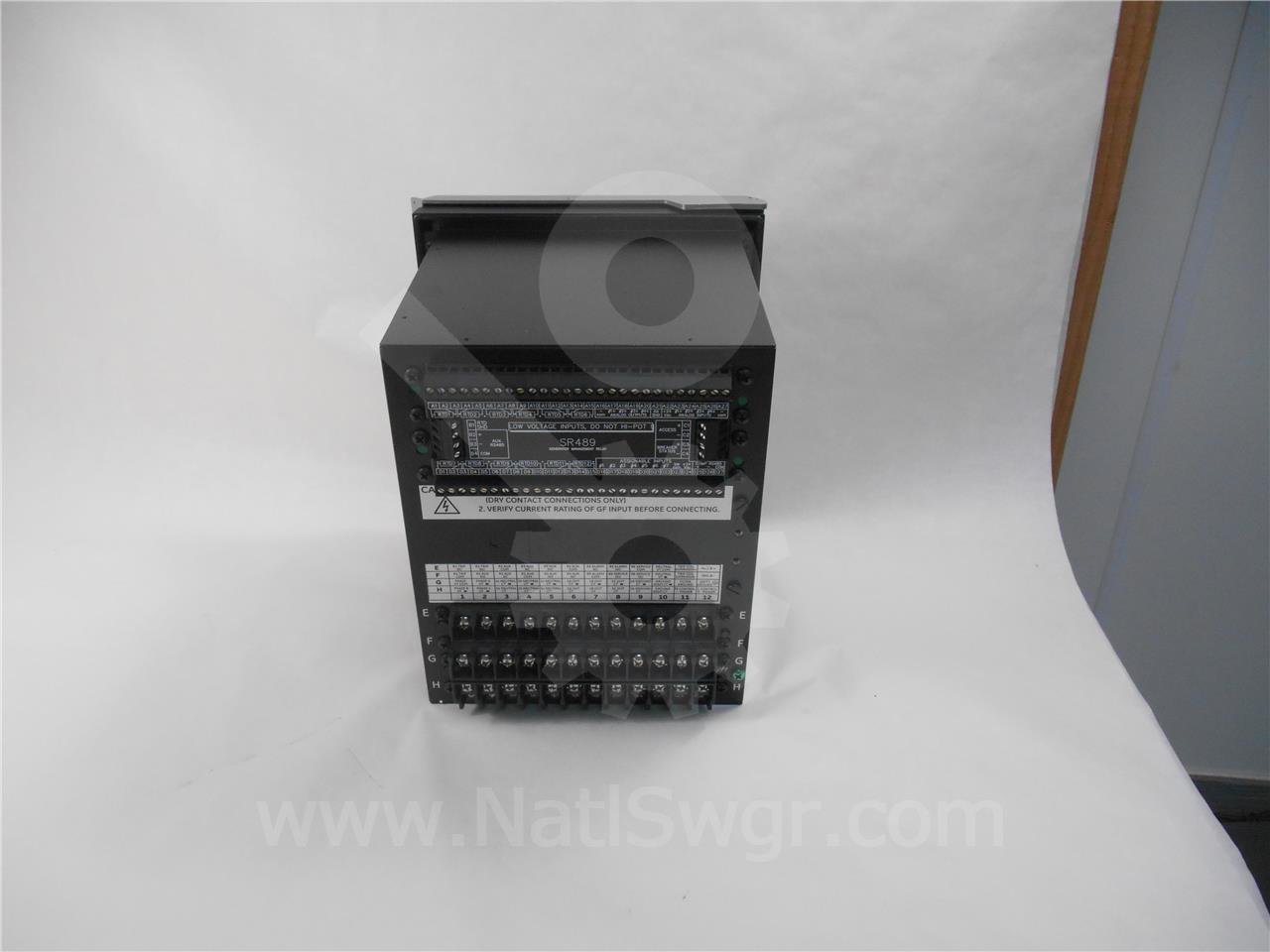 Ge Sr489 Relay Manual
