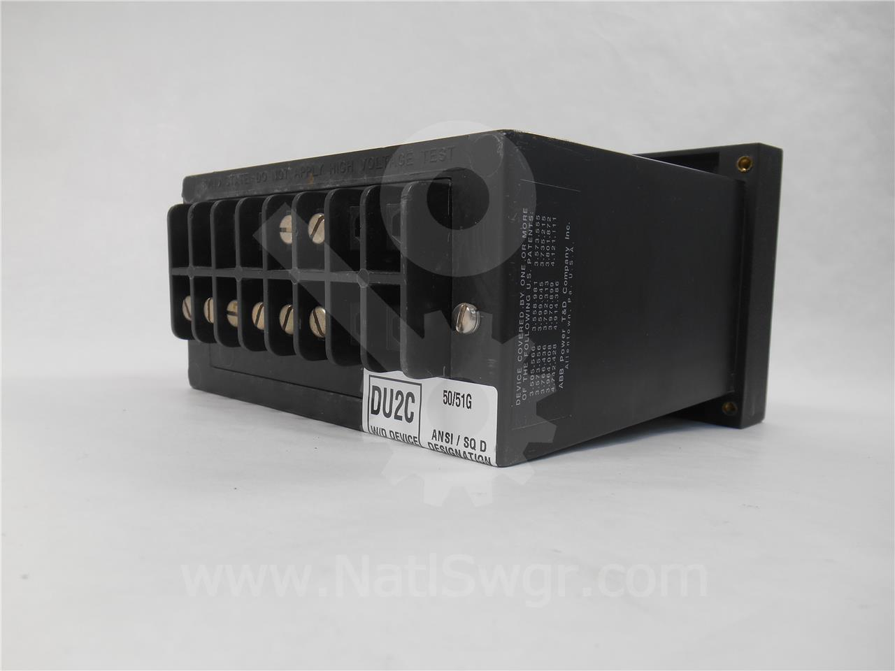 446S1101 ABB MICRO-51 CIRCUIT SHIELD OVER CURRENT RELAY ...