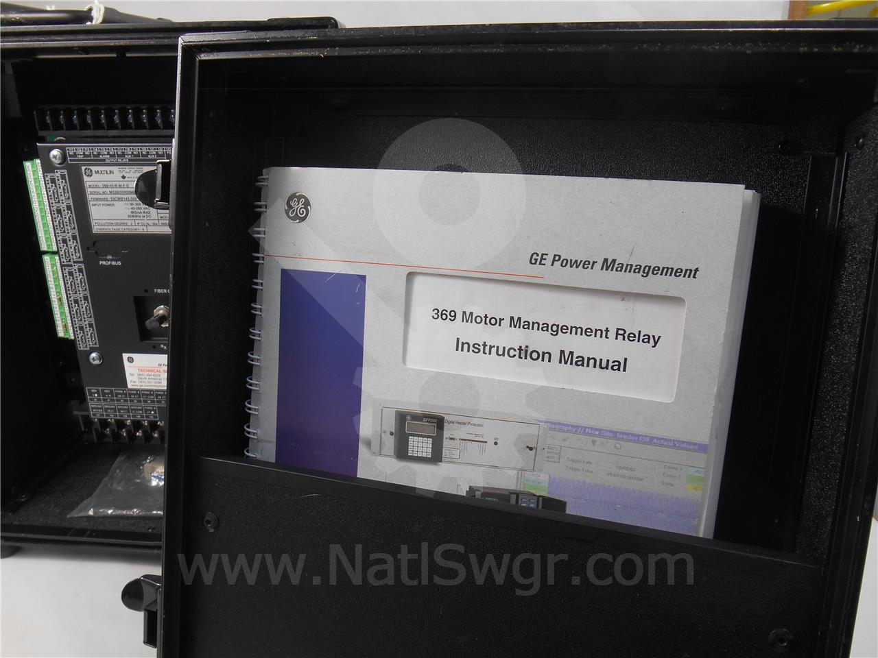 General Electric Ge 369 Multilin Motor Management Relay Training Aid Manuals