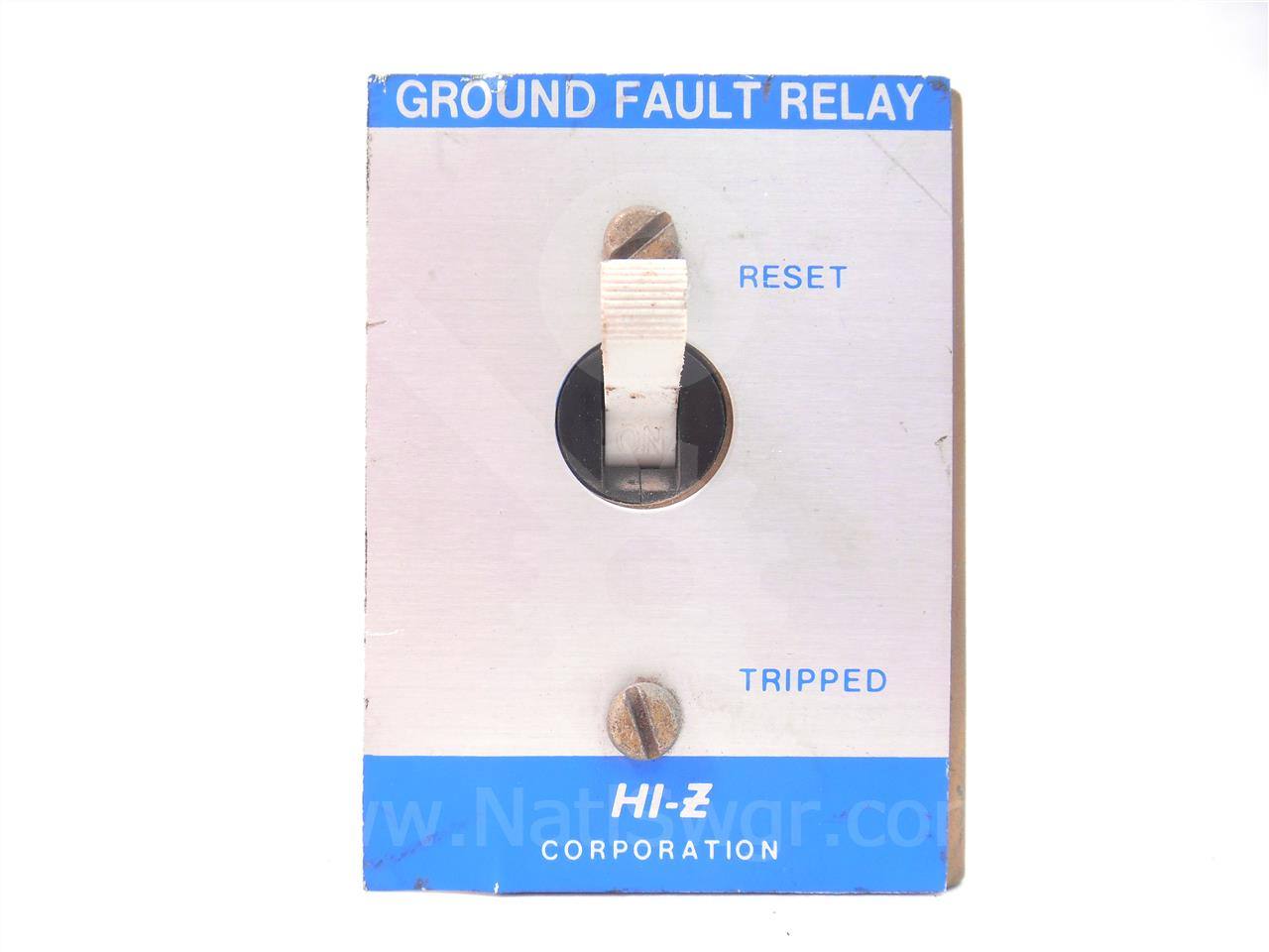 AZM31 AB HI-Z CORP GROUND FAULT RELAY 125VDC, 5-10A