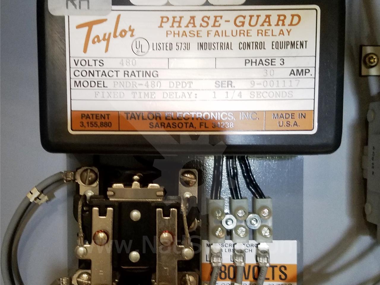 Pndr480 Taylor Electronics Phasegaurd Relay Sku015079 eBay