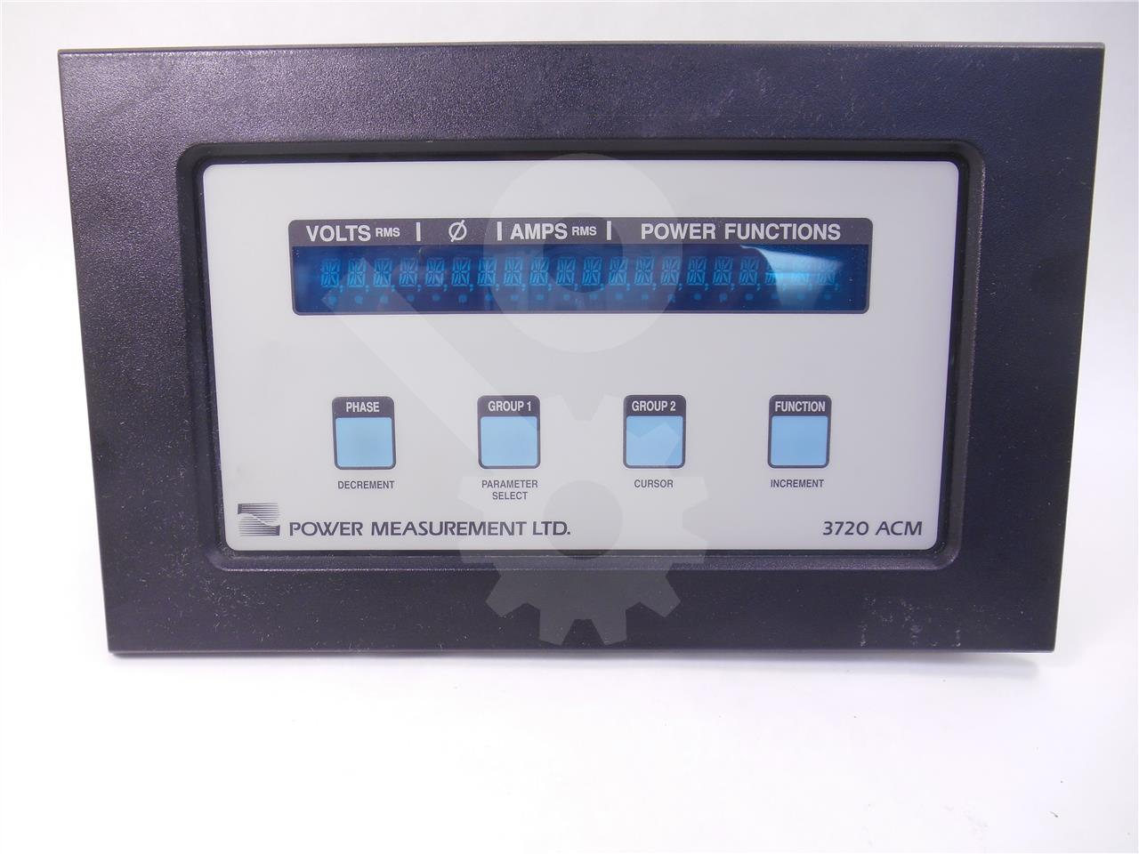 3720ACM-MPCC POWER MEASUREMENT POWER MONITOR WITH MULTI PORT COMMUNICATIONS CARD