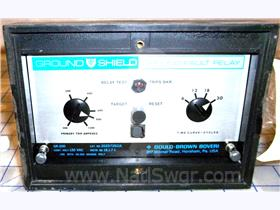BBC GR-200 GROUND SHIELD GROUND FAULT RELAY