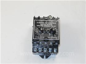 GE TGSR GROUND FAULT RELAY