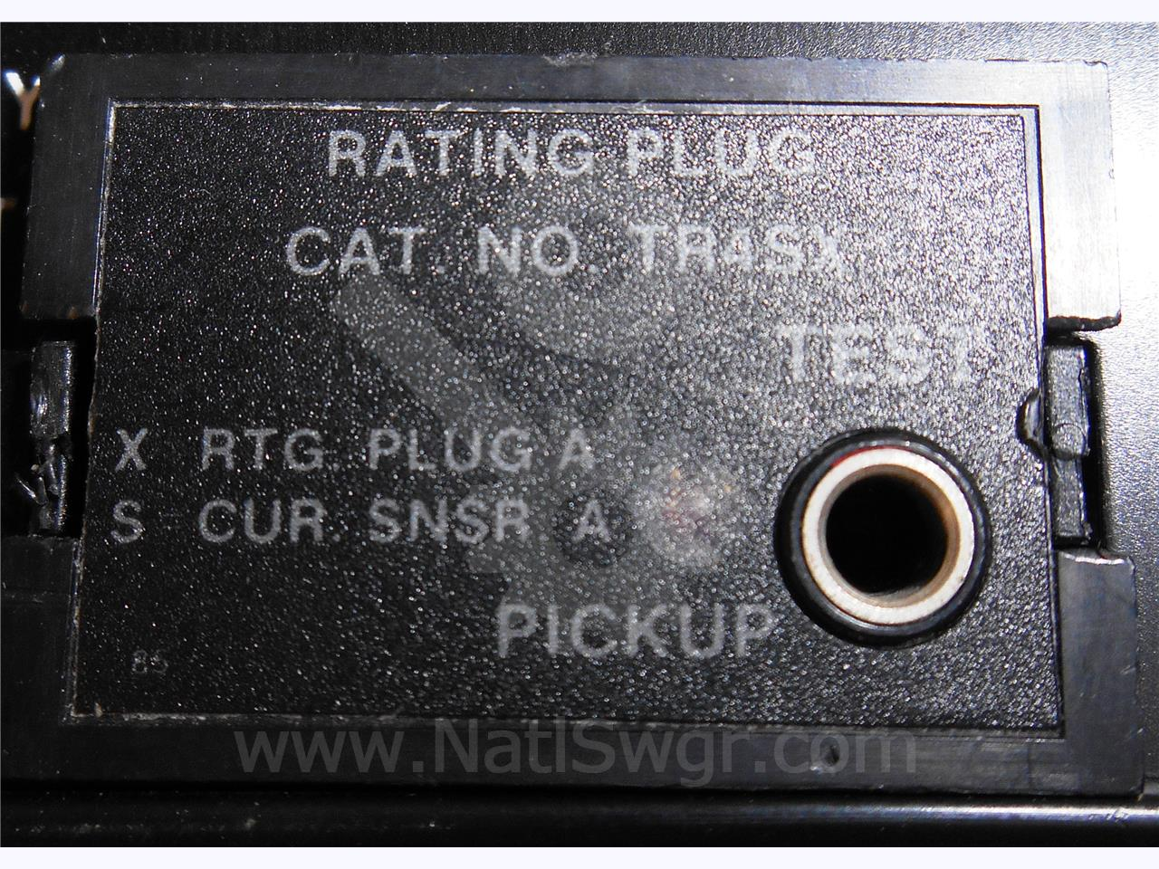 General Electric 4000A GE RATING PLUG 4000A CT