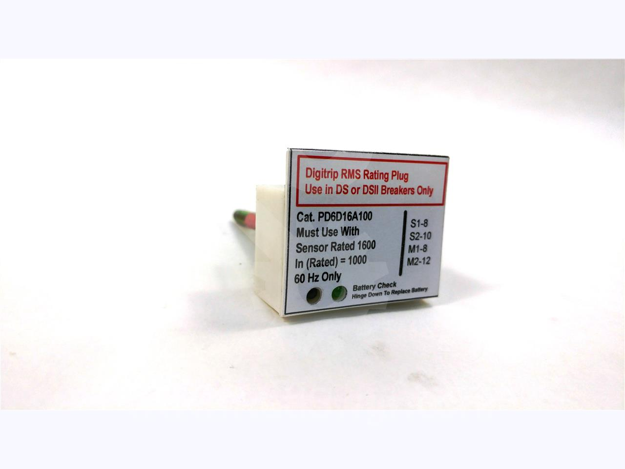 Westinghouse / Cutler Hammer 1000A WH RATING PLUG 1600A CT