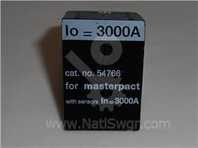 3000A SQD MASTERPACT RATING PLUG 3000A CT