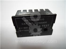 800A GE RATING PLUG 1600A CT