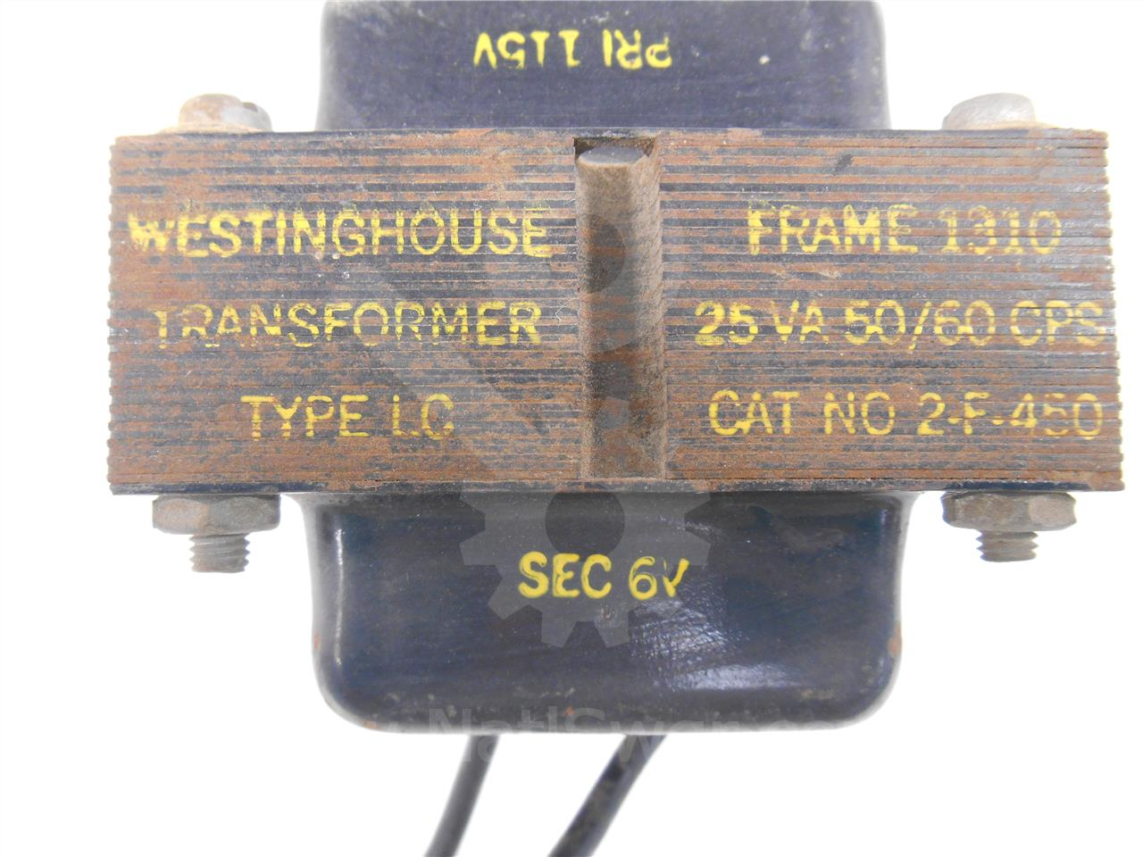 Westinghouse / Cutler Hammer WH 20:1 LC POTENTIAL TRANSFORMER