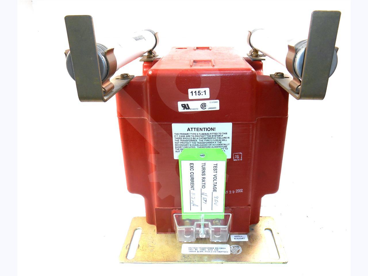 Instrument Transformer ITI 115:1 PTG-5 POTENTIAL TRANSFORMER
