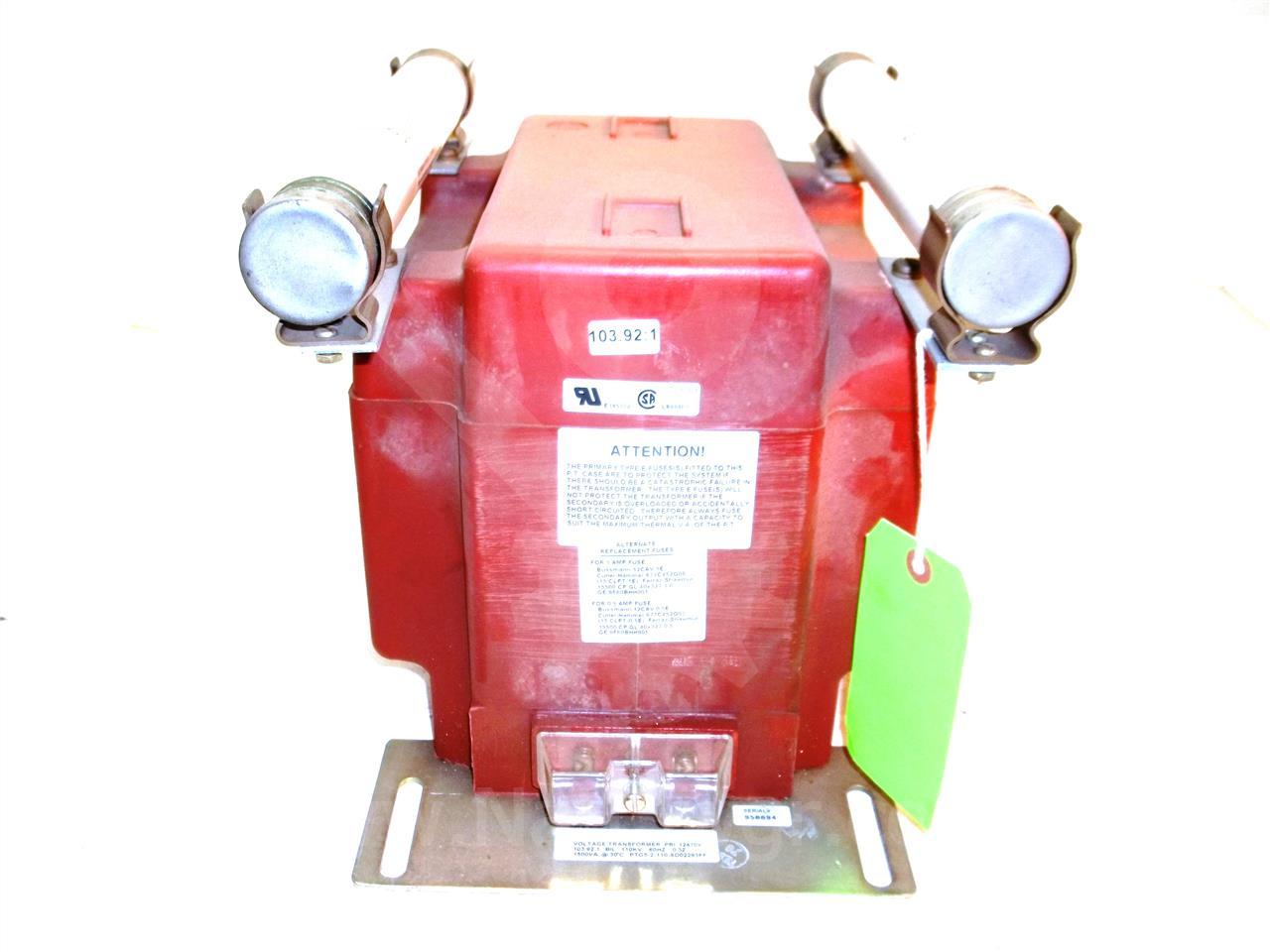 Instrument Transformer ITI 103.92:1 PTG-5 POTENTIAL ...