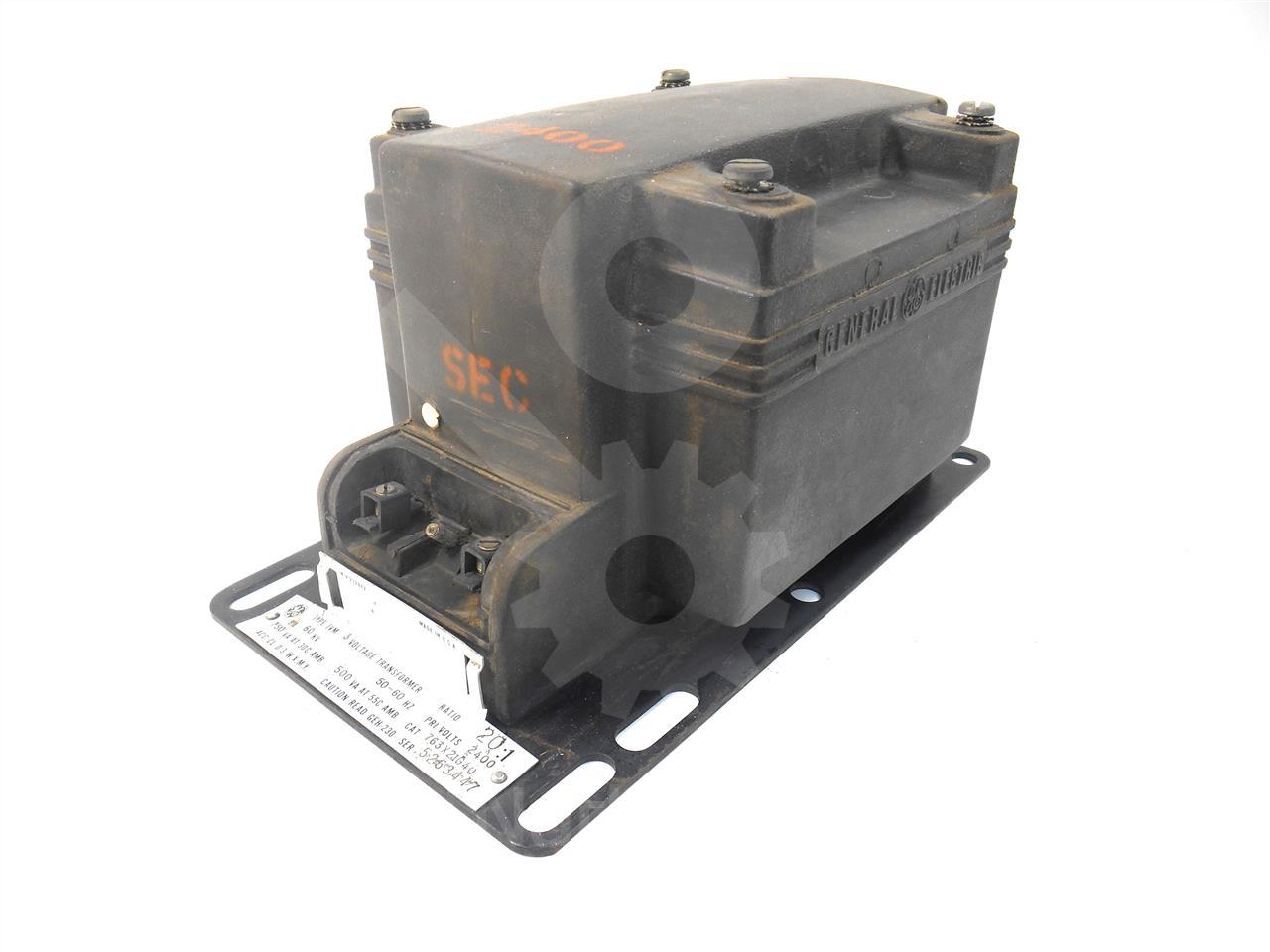 General Electric Ge 20 1 Jvm 3 Potential Transformer