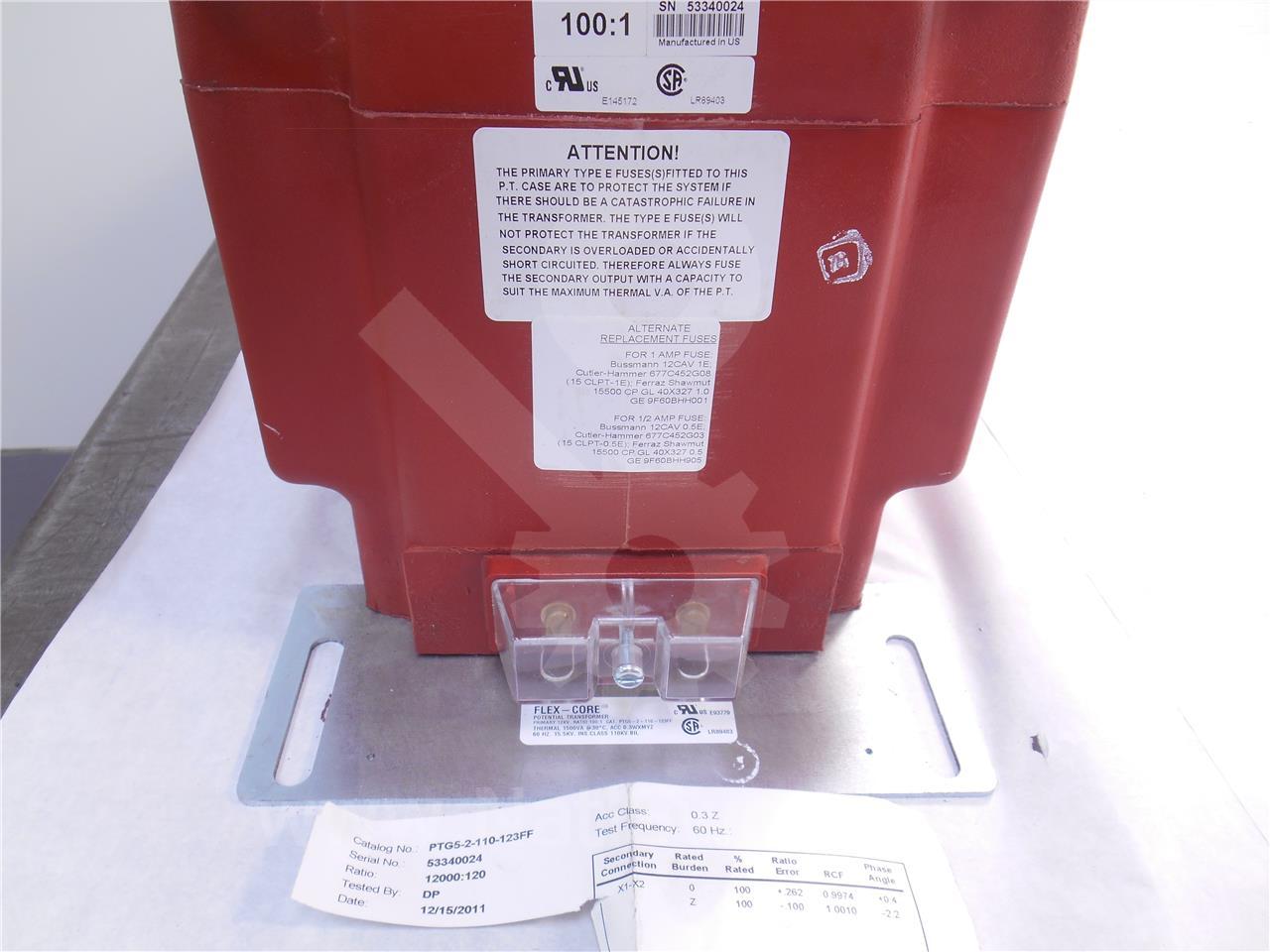 Instrument Transformer ITI 100:1 PTG-5 POTENTIAL ...