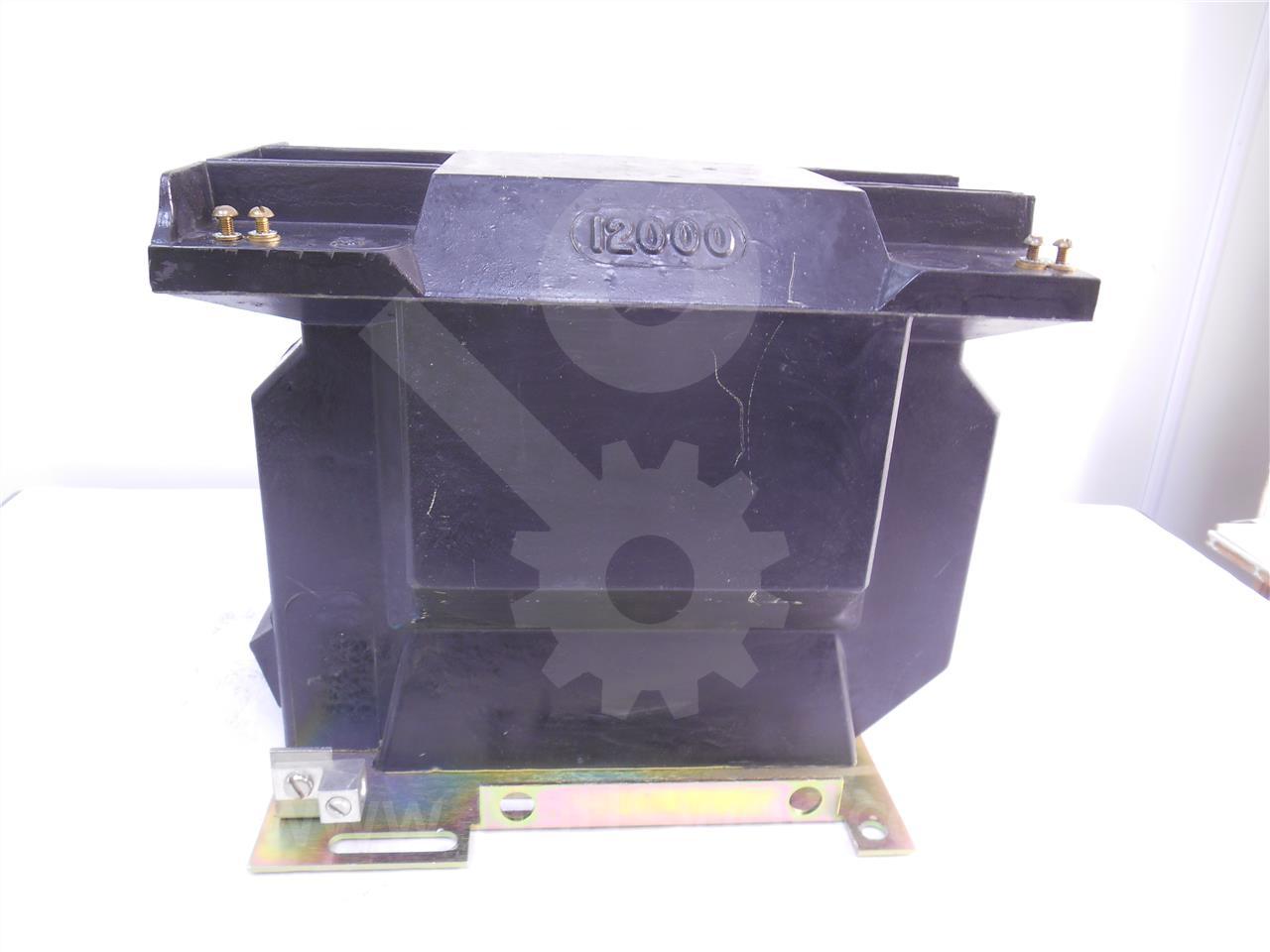 746C142A44 ABB 100:1 PT-15 POTENTIAL TRANSFORMER 15KV, 110KV BIL, 12000:120, DOUBLE FUSE