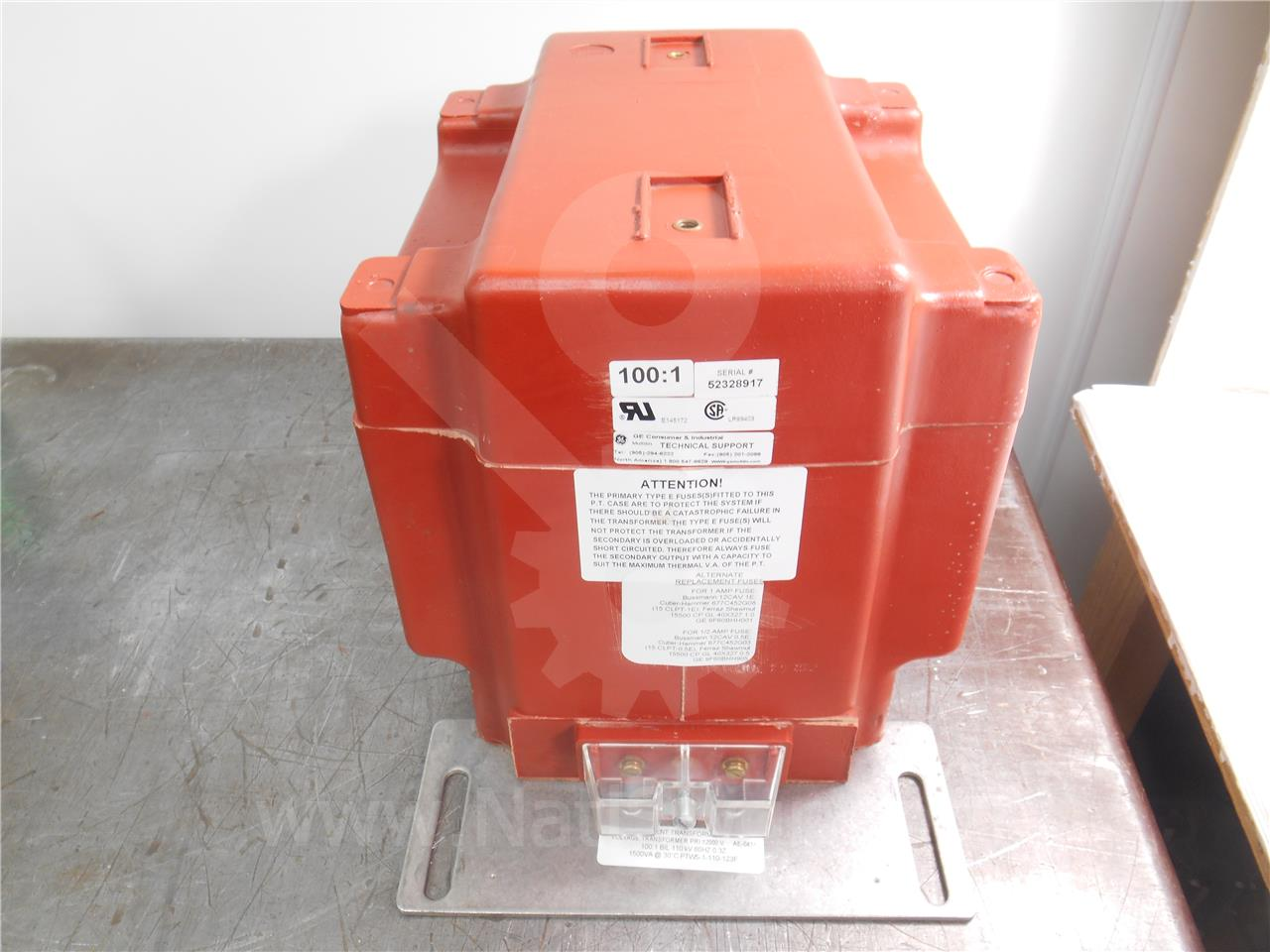 Instrument Transformer ITI 100:1 PTW5 POTENTIAL ...