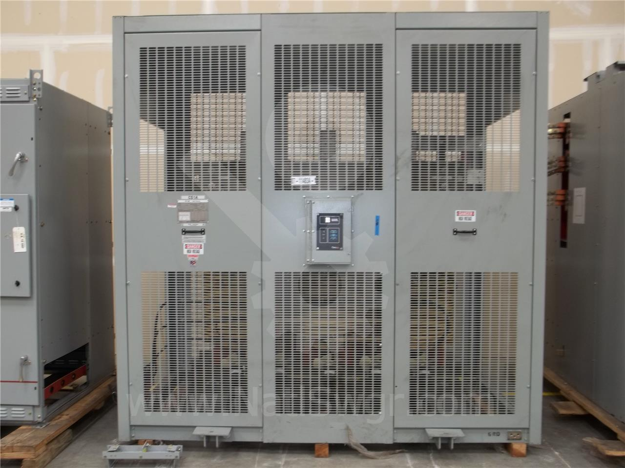 Westinghouse / Cutler Hammer CH 3000/4000KVA 13200:480V DRY 3PH POWER TRANSFORMER UNUSED SURPLUS