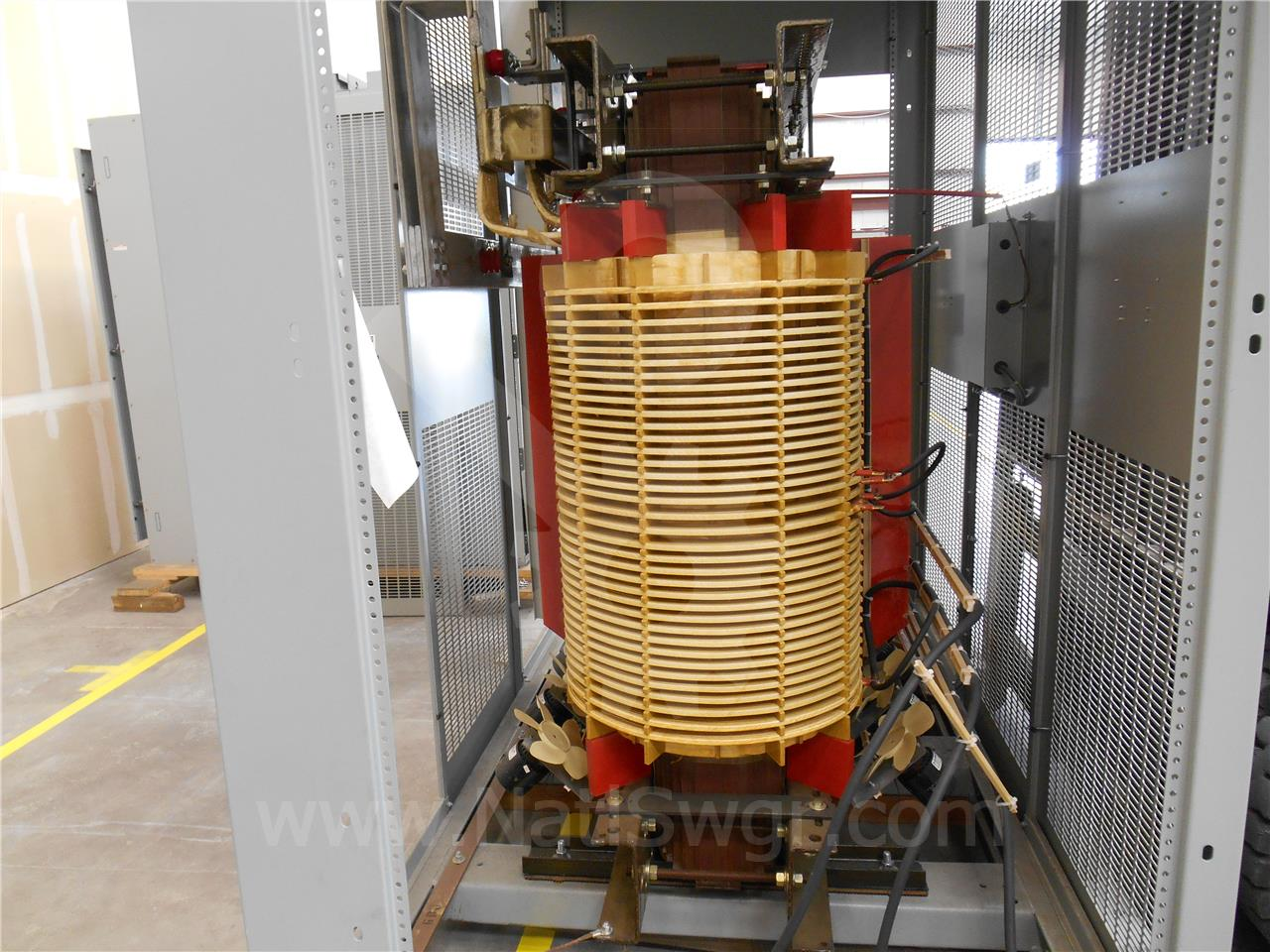 Westinghouse / Cutler Hammer CH 3000/4000KVA 13200:480V DRY 3PH POWER TRANSFORMER UNUSED SURPLUS