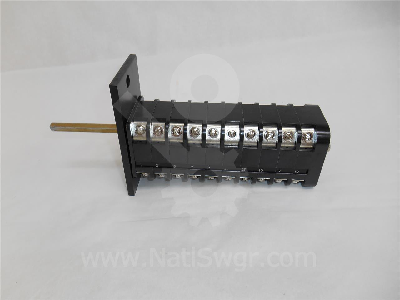 General Electric GE SBM AUXILIARY SWITCH, 10NO/10NC