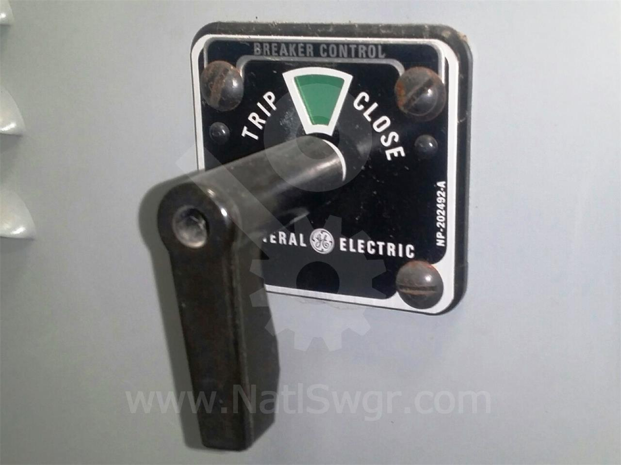 General Electric Ge Sbm Circuit Breaker Control Switch Fuse Box Pull Outs