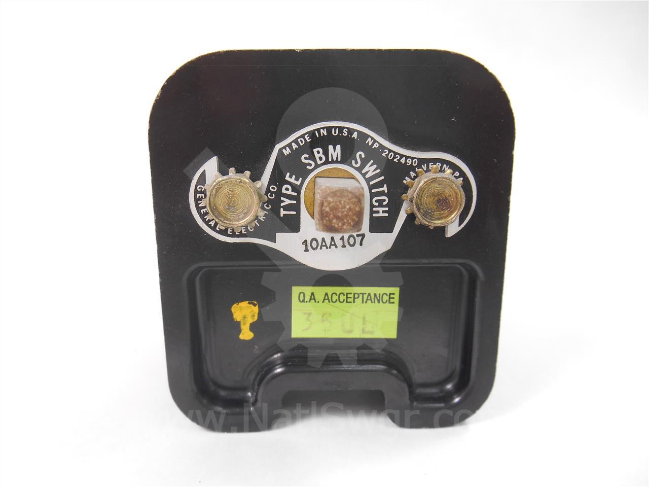 New General Electric Type SBM Breaker Control Switch 10AA107