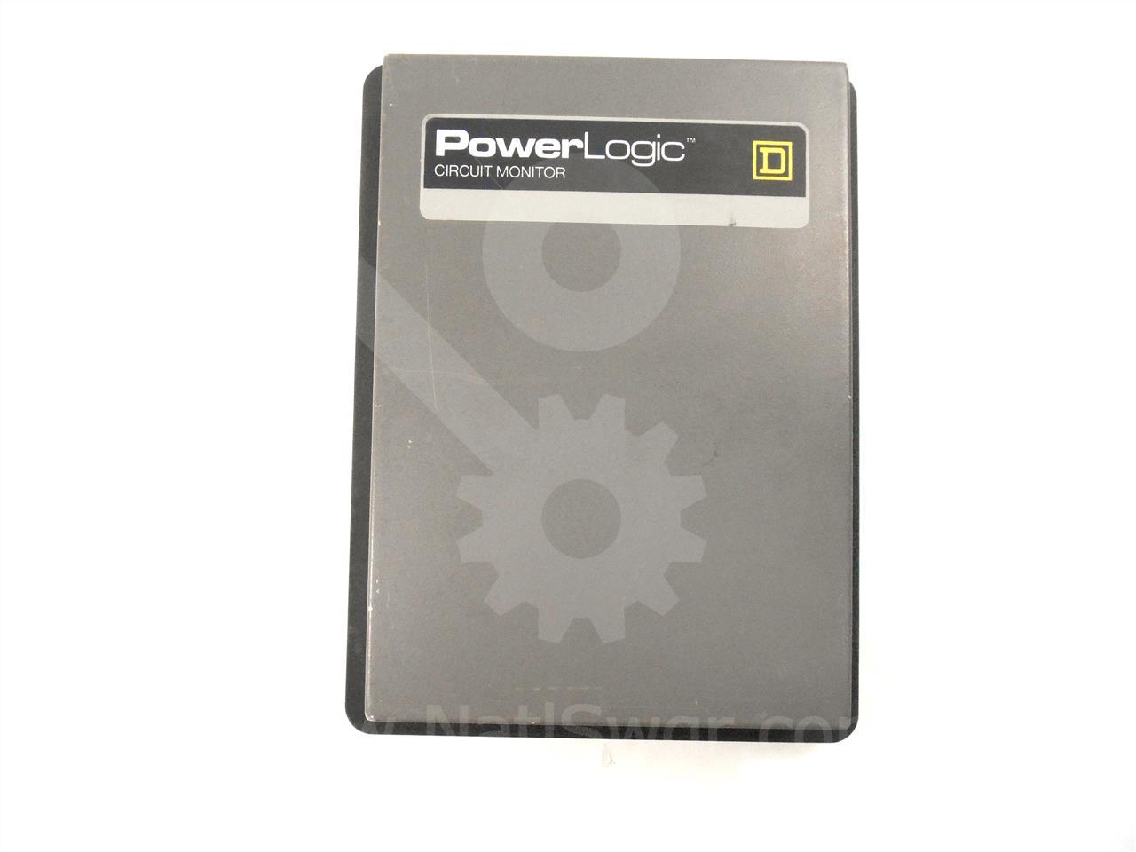Square D Sqd Powerlogic Cm 108 Circuit Monitor