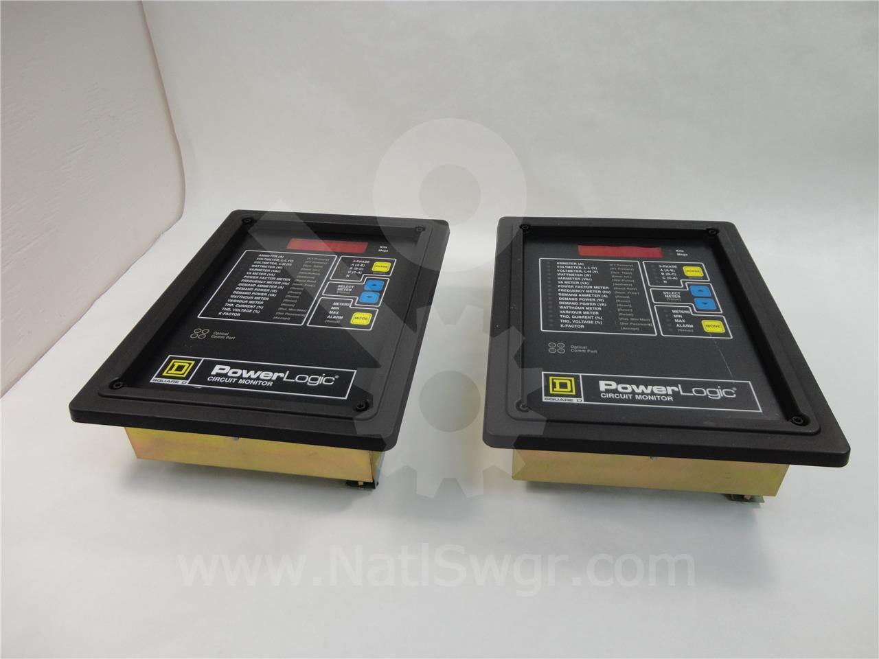 Square D Sqd Powerlogic Cm 2150 Circuit Monitor