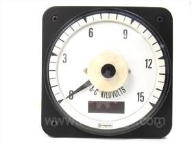 CROMPTON SWITCHBOARD AC KILOVOLT METER