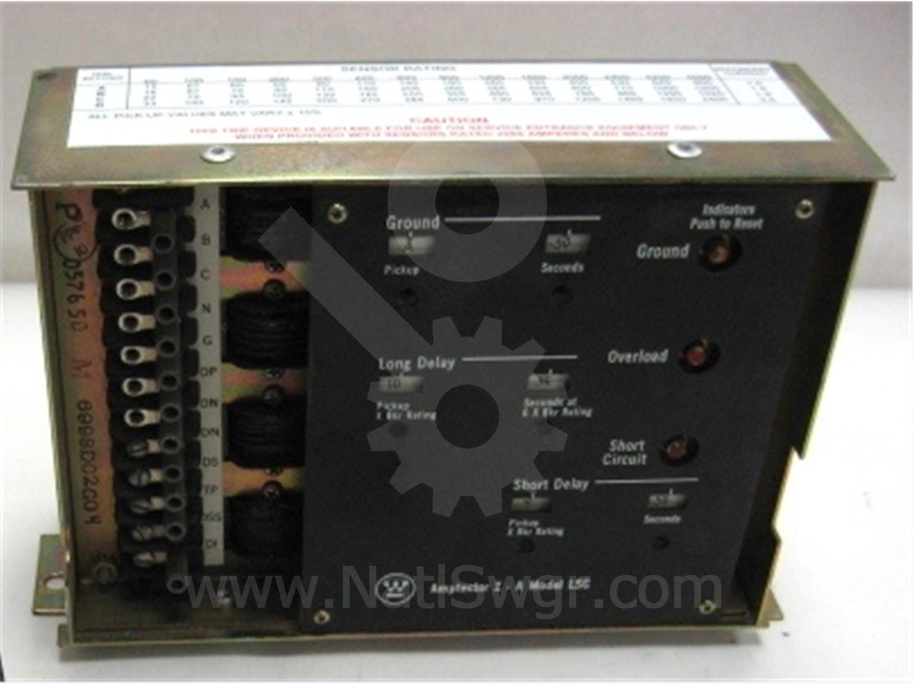 Westinghouse / Cutler Hammer WH AMPTECTOR I-A SOLID STATE PROGRAMMER LSG