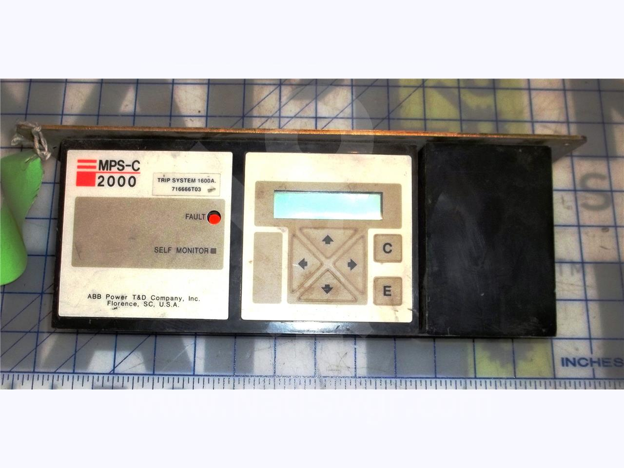 ABB / ITE / BBC ABB MPS-C 2000 SOLID STATE PROGRAMMER LSIG