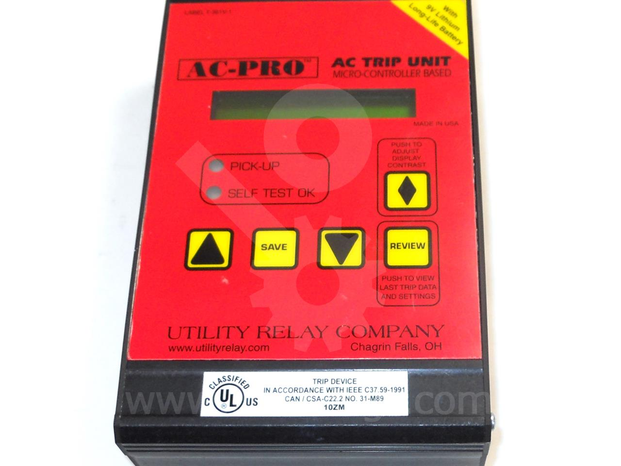 URC AC PRO SOLID STATE PROGRAMMER LSIG NEW