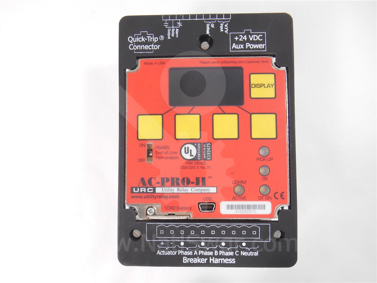 Utility Relay URC AC PRO II SOLID STATE PROGRAMMER LSIG